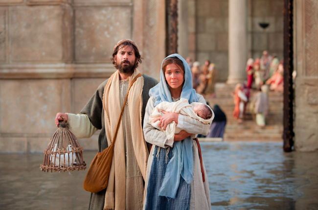 the interpretation of jesus in the movie the temple Scripture « previous but what i do have i give you: in the name of jesus christ the nazorean, [rise and] walk and went into the temple with them.