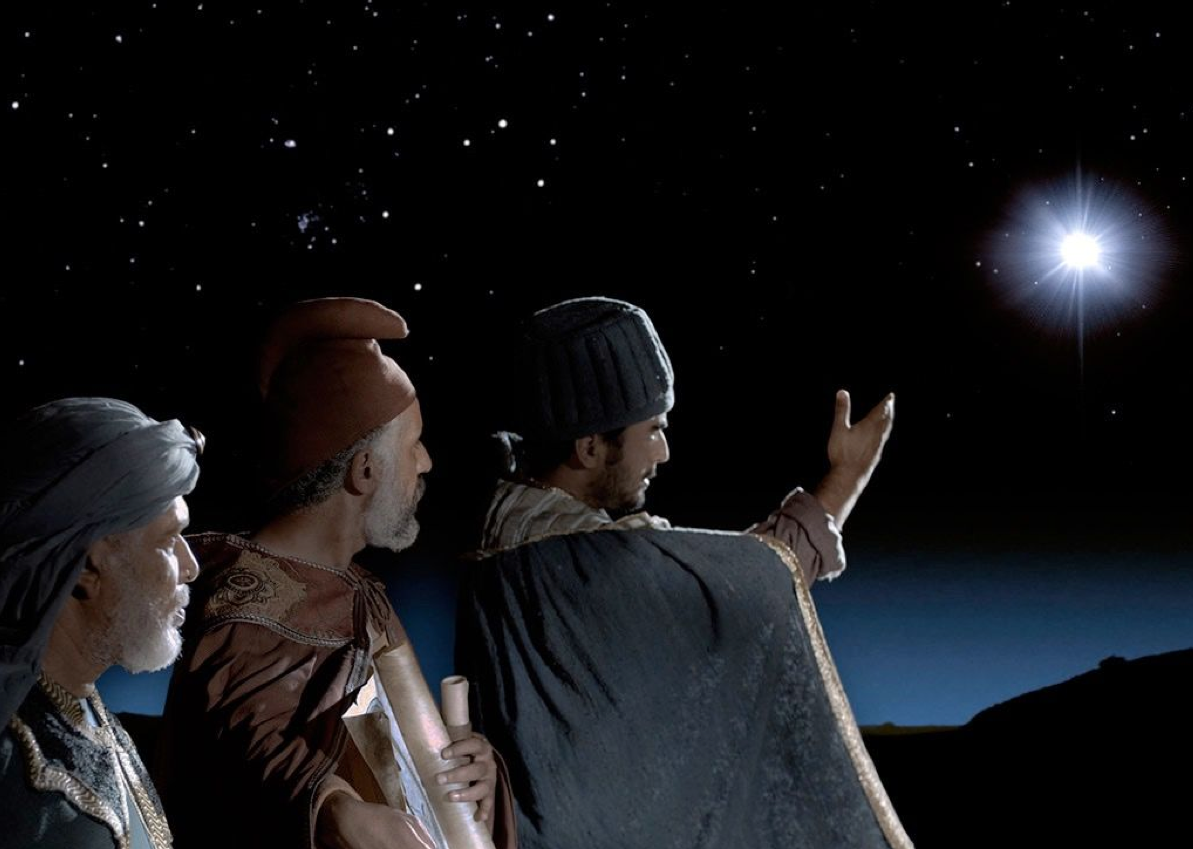 Wise men see the star